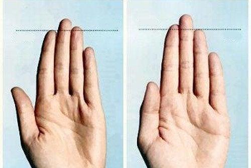 Mitä sormet kertovat ihmisestä?