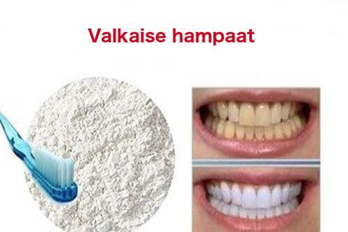 Puhdista hampaat luonnontuotteilla