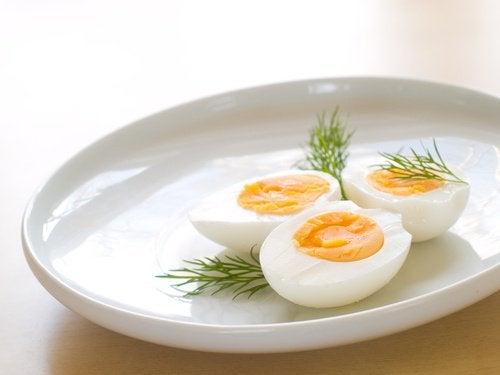 kananmunia ei tule lämmittää uudelleen