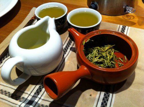 Vihreä tee ja keuhkot