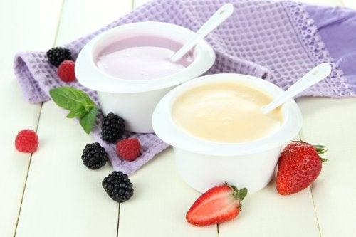 maustetut jogurtit