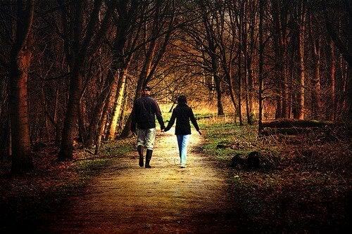 Luonnossa kävely rauhoittaa, puhdistaa ja vapauttaa mieltä.