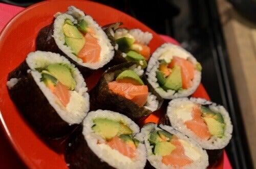 Sushi ja merilevä