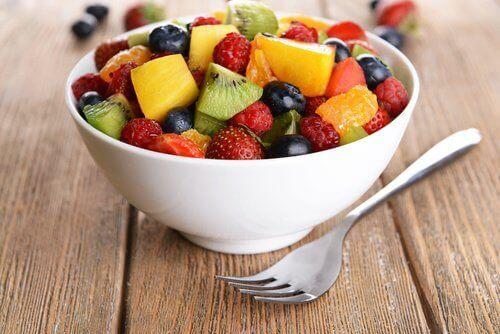5 tulehtuneisuutta poistavaa hedelmää