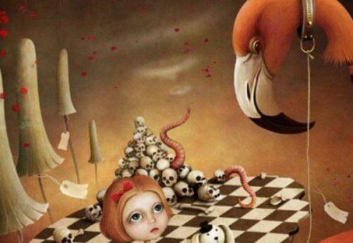 Tunne-elämän vampyyrit shakkipeli