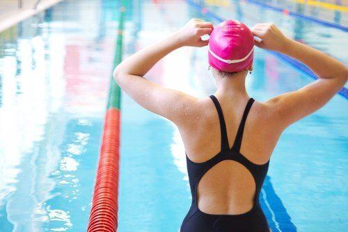 polvikivun lievittäjät: uinti