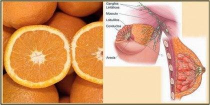 appelsiinit ja rinnat muistuttavat toisiaan