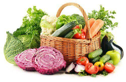 Kasvikset ovat ihanteellista ruokaa laihdutukseen.