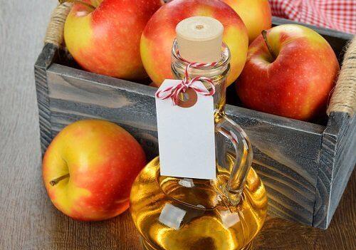 Omenaviinietikka vaikuttaa suotuisasti hartioiden hyvinvointiin.