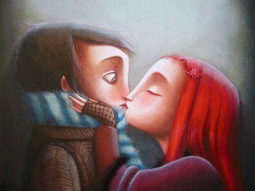 Rakastunut pari