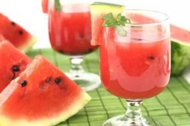 Munuaisia puhdistava juoma vesimelonin siemenistä