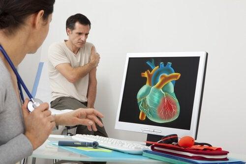 Kivut kehossa voi olla sydänsairauden oireita