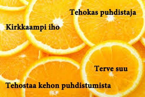 Sitruunan hyödyt