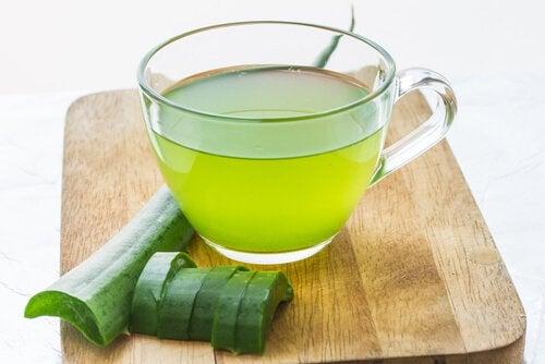 Aloe vera munuaiskivien poistoon