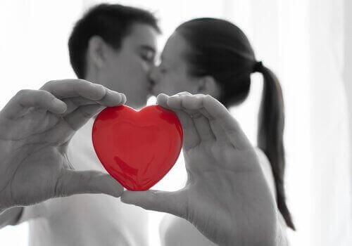 suudelma ja sydän