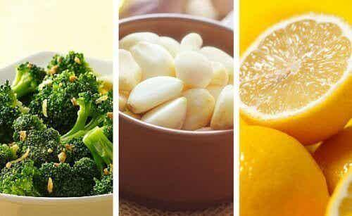 Parsakaali, sitruuna ja valkosipuli: tie terveeseen ja hoikkaan elämään