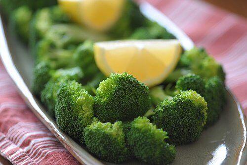 parsakaalia ja sitruuna