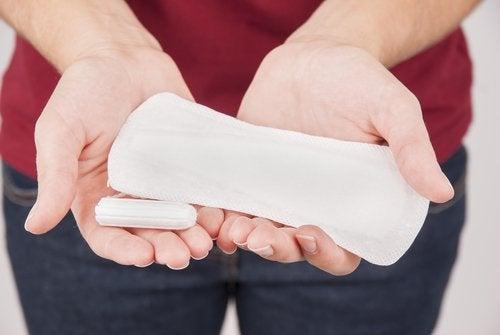 siteet ja tamponit voivat olla vaaraksi terveydelle