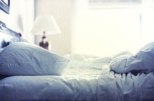 Allergianaiheuttajat makuuhuoneessa
