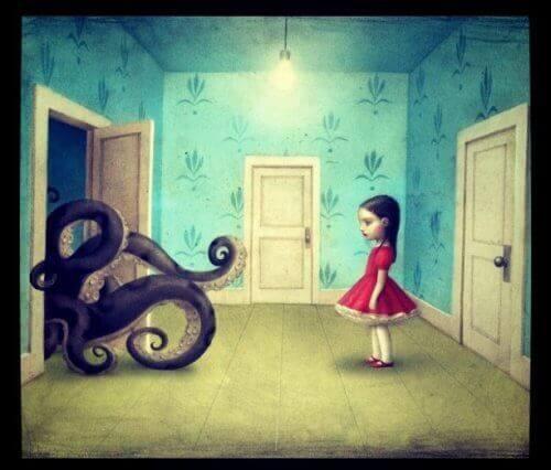Tyttö ja mustekala