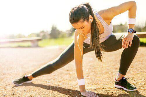 Liikunta ehkäisee lihaskramppeja