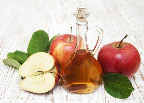 Selluliittihoidot omenaviinietikalla
