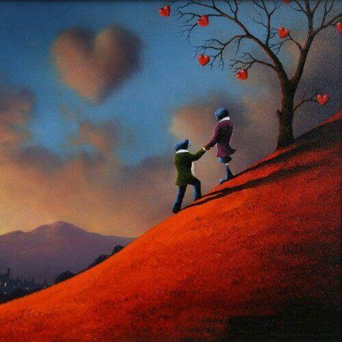 On tärkeää näyttää rakkaus, ei pelkästään tuntea sitä