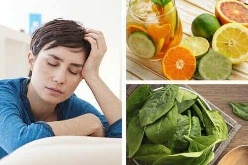 Vitamiinipuutokset aiheuttavat uupumusta