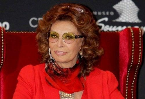 Filmitähti Sophia Loren