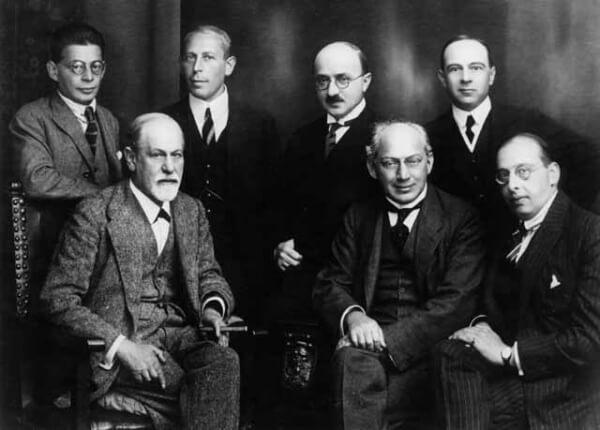 Sigmund Freud ja kollegat