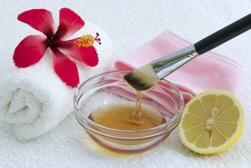 hunajahoito ihon uudistamiseen