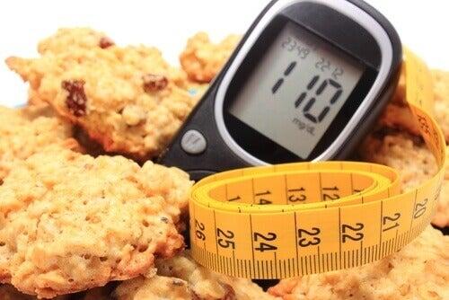 Kaurakeksit ja diabetes
