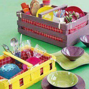 puulaatikot uusiokäytössä;; keittiölaatikko