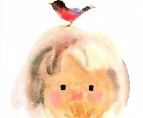 lapsi ja lintu