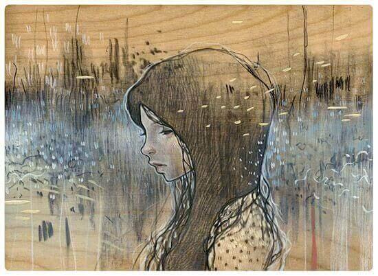 hiljaisuus voi kätkeä taakseen masennuksen