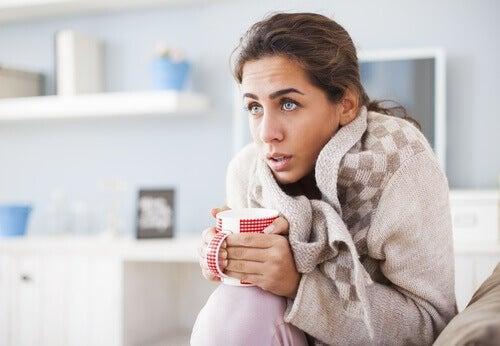 Munuaisten vajaatoiminta aiheuttaa kylmää tunnetta