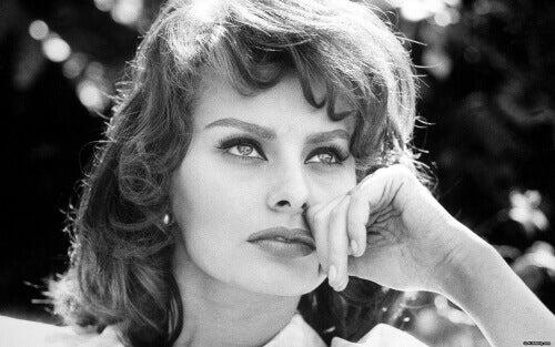 Sophia Loren nuorena