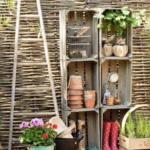 puulaatikot uusiokäytössä;; puutarhalaatikko