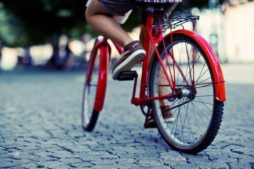 pyöräily on aina hyödyllistä