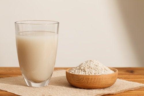terveellinen riisimaito