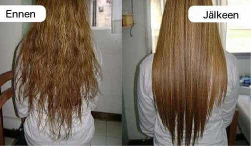 Näin suoristat hiukset luonnollisesti