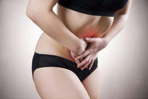 vatsahaava aiheuttaa kipua