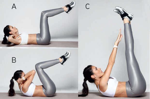 6 harjoitusta vatsalihasten vahvistamiseen