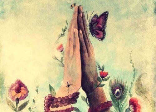 Kädet ja perhonen