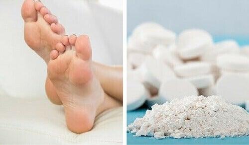 Aspiriinilla eroon ihon kovettumista