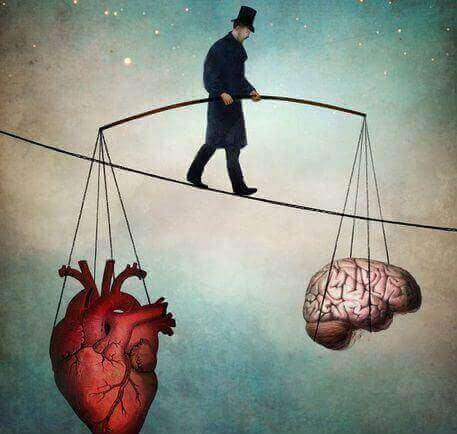 Tasapaino aivot ja sydan