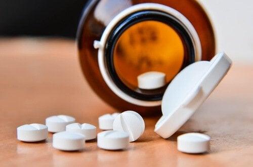 aspiriini ihon kovettumista ehkäisemään