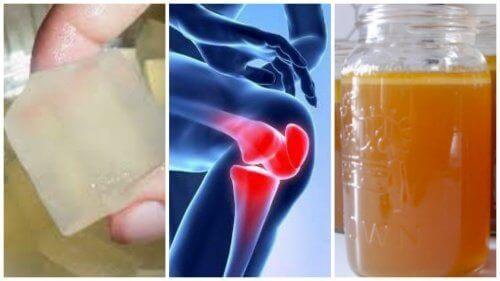 3 gelatiinihoitoa nivelkipuun