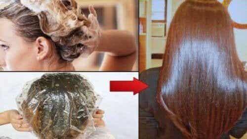 5 tapaa suoristaa hiukset luonnollisesti