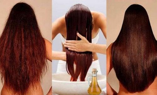 omenaviinietikka hoitaa myös hiukset kuntoon